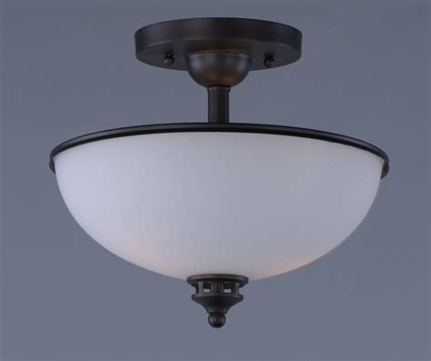 flush mount light novus 2 light semi flush mount semi flush mount maxim