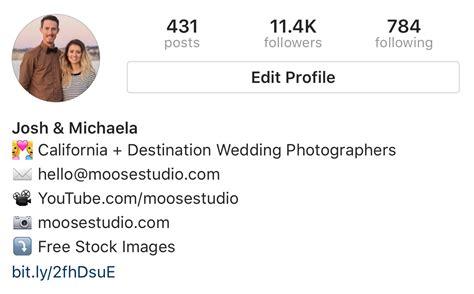 bio instagram return the anatomy of a killer instagram profile that converts
