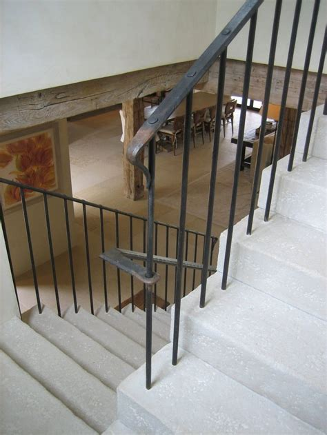 stairs without banister 1000 ideas about iron stair railing on pinterest