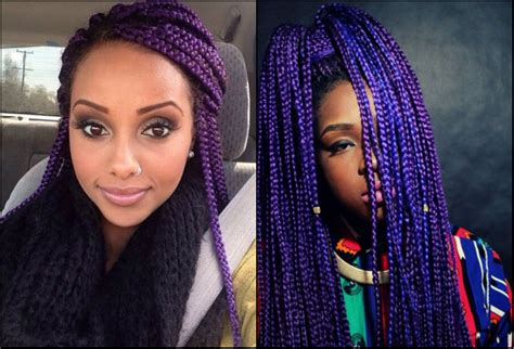 Braid Hairstyles For Black Hair 2017 by Black Colourful Box Braids Hairstyles 2017