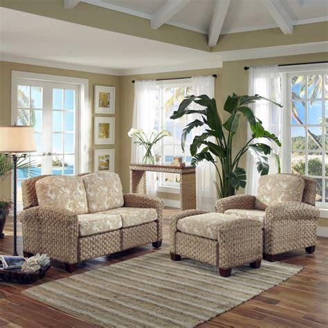 Lowes Living Room Furniture Shop Home Styles 3 Cabana Banana Ii Honey Living Room Set At Lowes