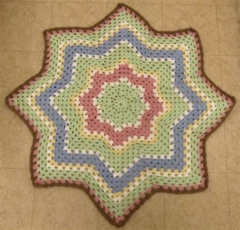 free crochet patterns for round ripple afghan crochet 78 best images about round ripple rugs star type