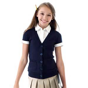 girls 4 6x uniforms mock cardigan boscov s