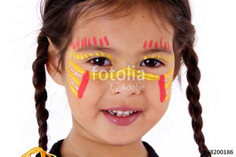 Couettes Enfants by Quot Enfant Avec Couettes Et Maquillage Quot Photo Libre De Droits