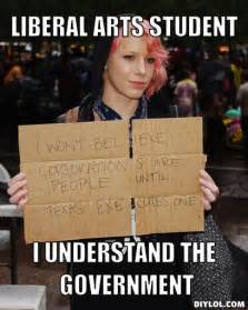 Funny Liberal Memes - college liberal meme memes