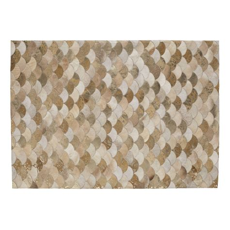 Leather Carpets Rugs by Covalper Leather Rug 160 X 230cm Maisons Du Monde