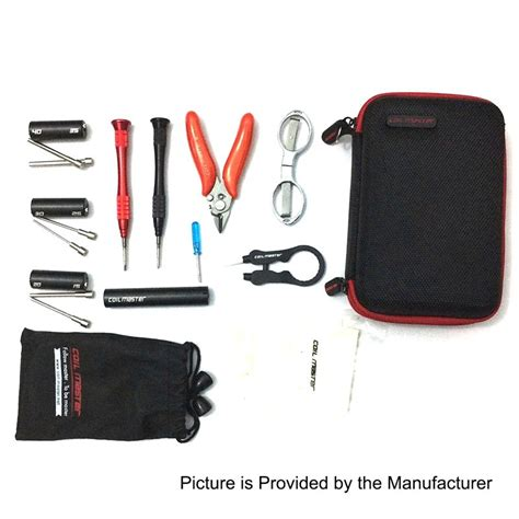 Vape Mini Tool Kit Rda Diy Coiling Builder Authentic authentic coil master diy kit mini w coiling kit v4 pliers tweezers