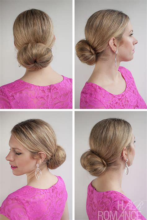 long hair buns for late 30 year old 30 buns in 30 days day 6 low sock bun hairstyle hair