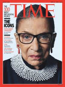 time 100 most influential people people who are well represented at trial by ruth bader