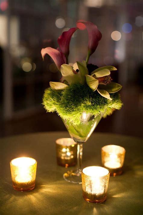17 Best ideas about Martini Glass Centerpiece on Pinterest