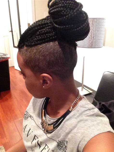 cornrows hairstyes with sides shaved 17 best images about hair ideas on pinterest box braids