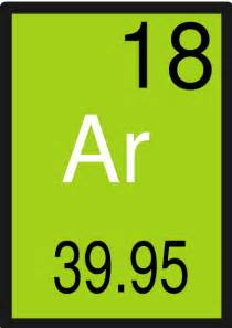 Element With 18 Protons Periodic Table Element18