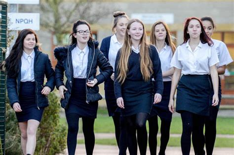 Mums fuming as 200 schoolgirls sent home for short skirts