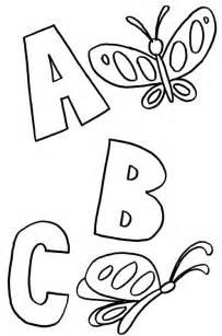 abc color abc coloring pages coloring pages to print