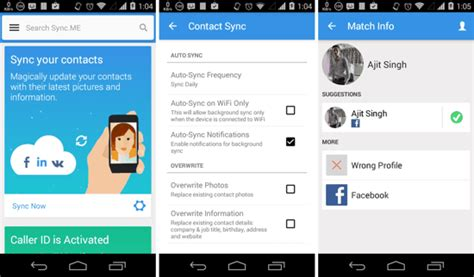 android sync contacts 5 best apps to sync contacts with android