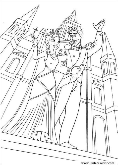 the princess a storybook to color desenhos para pintar e colorir princesa sapo imprimir