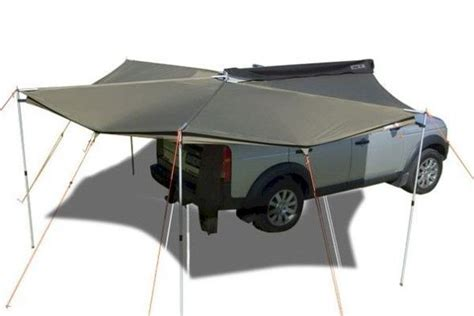 roof rack shade awning foxwing awning 270 degree shade coverage fits the vw