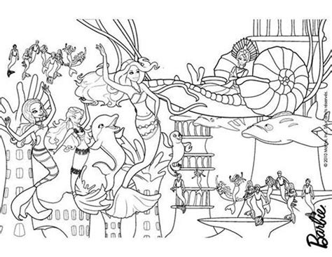 lego underwater coloring pages coloriage barbie et le secret des sirenes merliah la