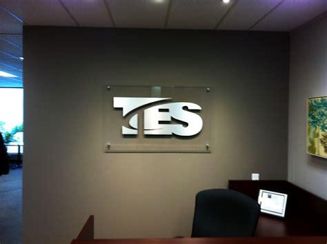 Kids Desk Area Tes Brushed Metal Stand Off Letters Dream Image
