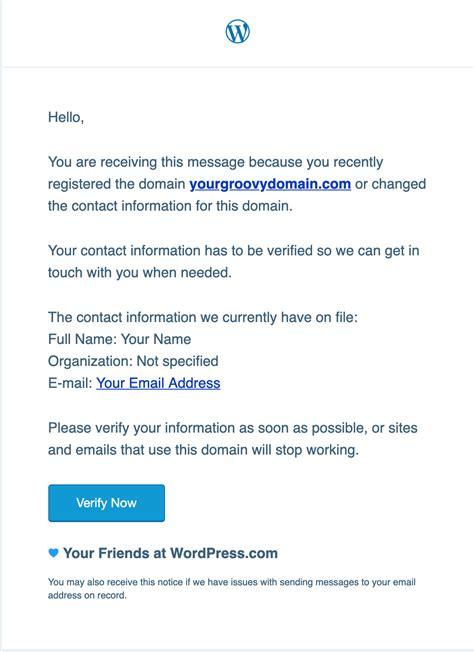 register   domain support wordpresscom