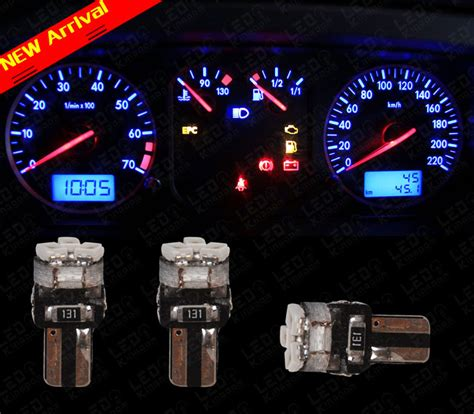 led t5 speedometer mobil 20 t5 wedge 3 smd 3825 speedometer cluster led
