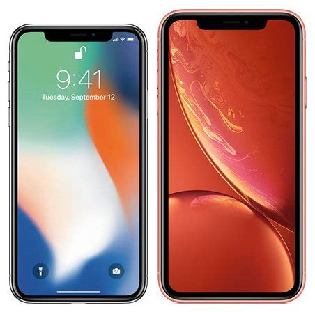 compare smartphones apple iphone x vs apple iphone xr cameracreativ
