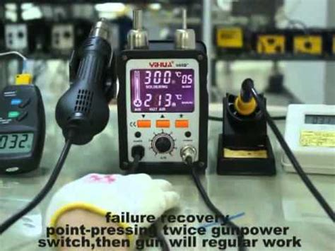 Air Gun And Soldering Iron Yihua 995d 2in1 review of atten 898d rework and soldering station doovi