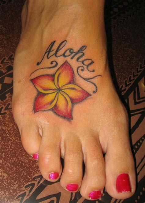 flowers on foot tattoo designs list design flower tattoos pictures