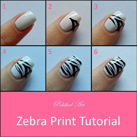 a simple and easy girly zebra nail art design finger 25 best ideas about zebra nail art on pinterest zebra