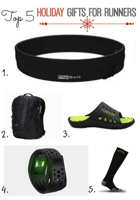 holiday fit list top 5 gifts for runners the fit
