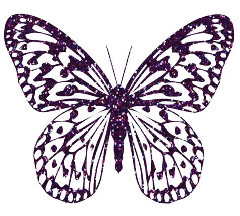 Decorative Butterflies With by Purple Decorative Butterfly Png Clipart Image Gallery