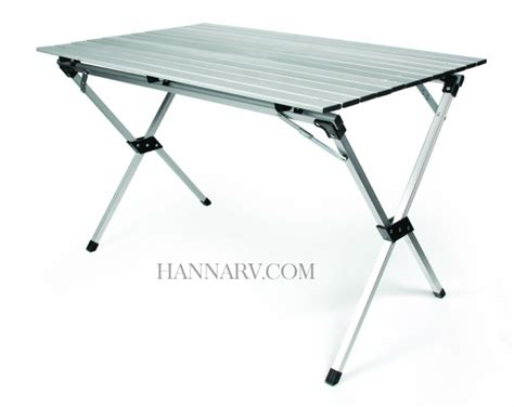 Roll Up C Table by Camco 51892 Aluminum Roll Up Table With Bag