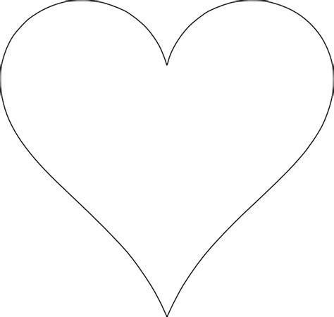 printable red heart shapes 6 free printable heart templates printable hearts heart
