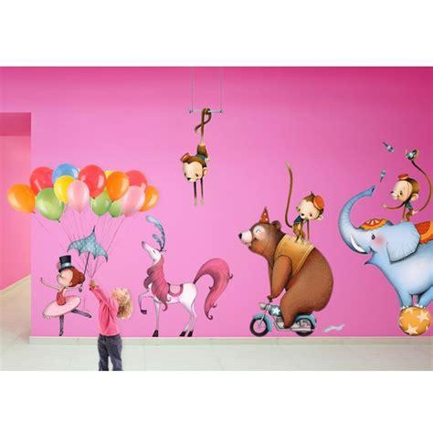 stickers pour chambre d enfant sticker enfant cheval de cirque stickers chambre enfant