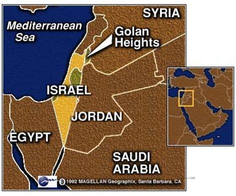 middle east map golan heights war news updates more talk of war in the middle east