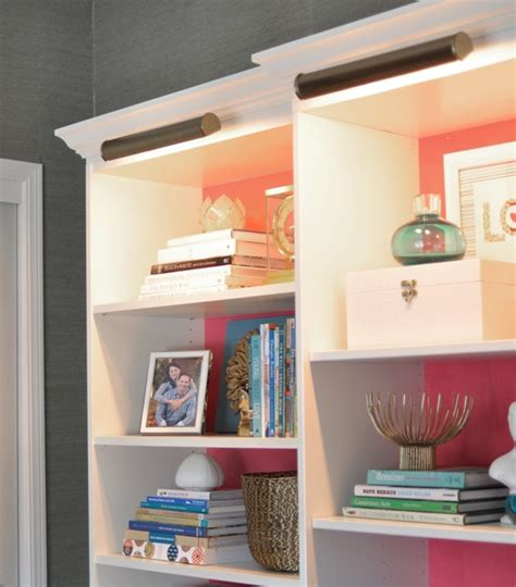 lighting on top of bookcase besta billy brass bookcases centsational
