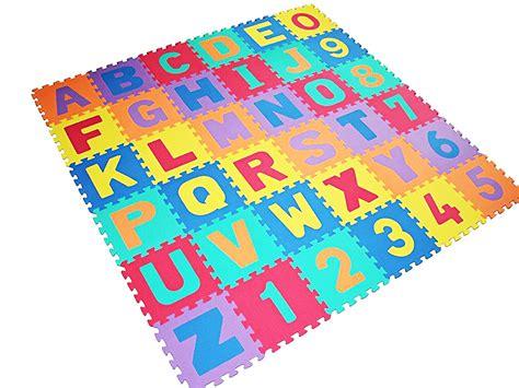 alphabet play learning mat large size foam children