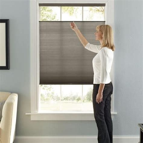 window coverings for privacy and light accordia light filtering cellular shade window