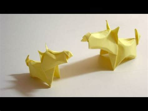 dogs in origami 30 breeds from terriers to hounds books origami terrier cachorro de origami