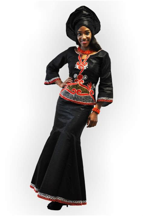 latest african designs for senegales brocade for women elegant black african brocade attire