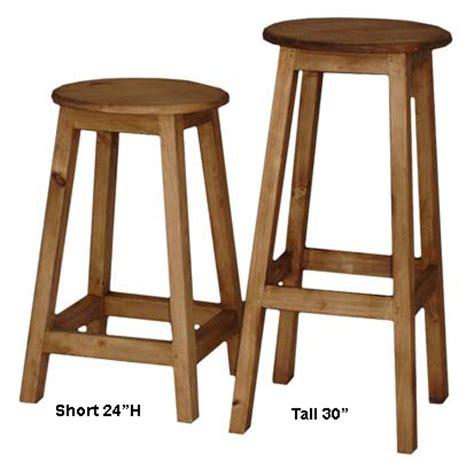 Pine Bar Stool by Rustic Bar Stools Pine Bar Stools And Mexican Pine Bar Stoold