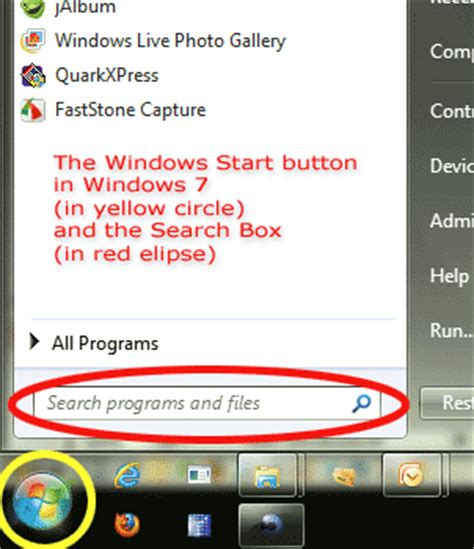 where is the search box in windows 7 windows search box windows free engine image for user