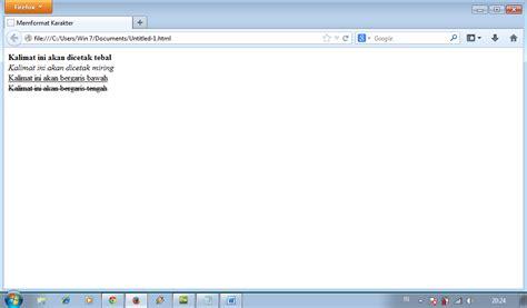 format subscript adalah html format karakter ayus blog
