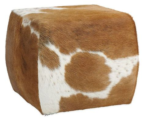 Cocktails Cocktail Ottoman And Ottomans On Pinterest Cowhide Cocktail Ottoman