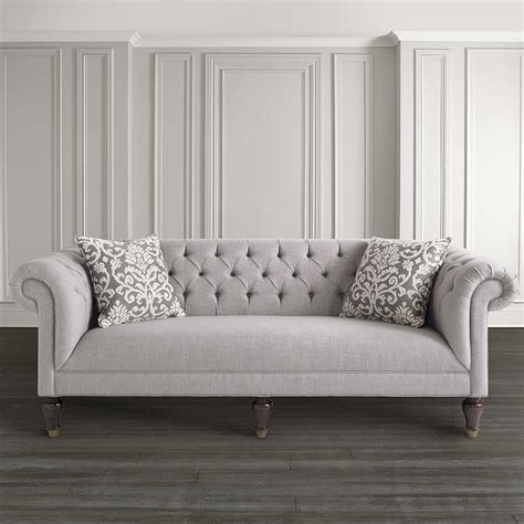 Are Chesterfields Comfortable by Classic Chesterfield Style Sofa