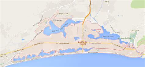 map  barra da tijuca