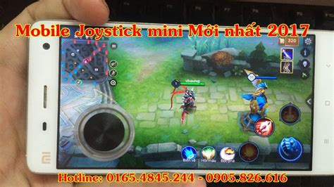 x mod game cho iphone mobile joystick mini rc 2017 hỗ trợ chơi game cho iphone