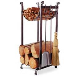 enclume 174 sling fireplace log rack with tools 226490