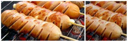 resep sosis bakar saus pedas manis tabur keju county food