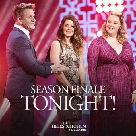What Is The Current Season Of Hell S Kitchen hell s kitchen finale recap wins season 16 episode